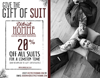 Give The Gift of Suit | District Homme
