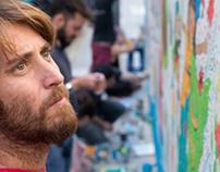 Live painting/ Interviews / Press