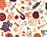 Latin Jazz band - Logo y aplicaciones