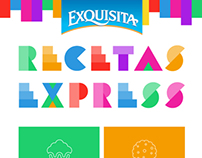 Exquisita, Recetas Express - Responsive Web Design