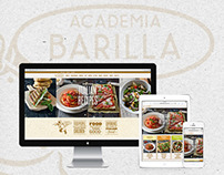 Barilla Restaurants Website