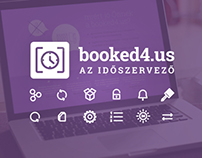 Booked4.us - Booking system branding and promo website