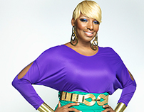 Nene Leakes for Denim Magazine