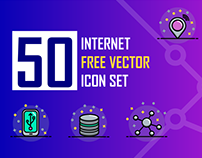 Internet Free Vector Icon Set