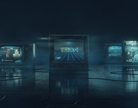"TRON LEGACY ""News Sequence"""