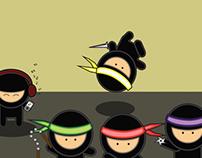 4 Ninja's and a DJ