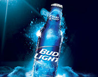 BUD LIGHT Aluminum Launch Campaign Mexico.