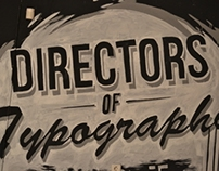Directors Of Typography | Mural