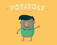 Potatoly Family Character