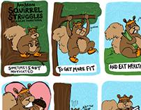 Ann Arbor Squirrel Mini Comic