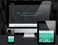 Business responsive website