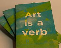 Art is a verb