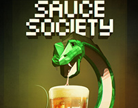 Sauce Society 3D Poster