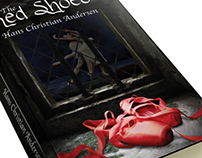 The Red Shoes Book Cover Design