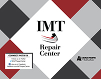 IMT Repair Center Information Postcard