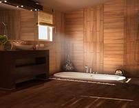 3d vis for wooden tiles