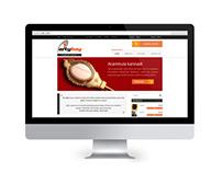 website design - artybay