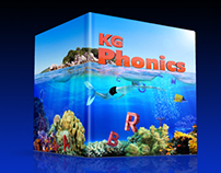 "Book Cover ""KG Phonics"""
