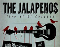 Gig Poster - The Jalapenos