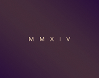 Minimal Wallpaper Project : New Year 2014