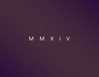 Minimal Wallpaper Project : New Year 2014