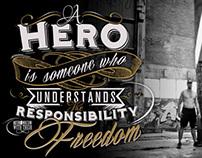 EVERYDAY HERO TEE
