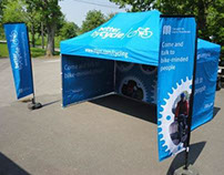 Better by Cycle event flags & gazebo