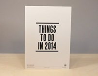 Things To Do In 2014 | Animation