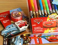 Cars school supplies