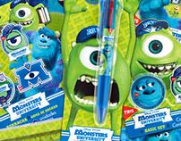 Monsters University school supplies