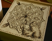 Pyrographing