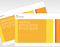 BNY Mellon Mobile and Browser Application Style Guides