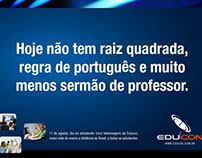 Anúncio Educon. 2007