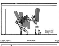 D.E.R.I.C. storyboards