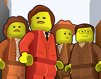 If Anchorman was made out of Lego