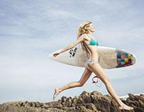 Surfer girl, Marina Marre