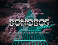 80s Style Bonobos Logo