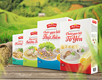 Mộc Sen Brown Rice Food Packaging Design