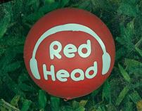 Identidad para REDHEAD producción musical.