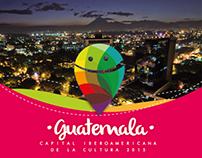 Marca Guatemala Capital de la Cultura Iberoamericana