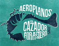 ILLUSTRATION and ART CD for AEROPLANOS - EP