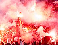 Egyptian football match