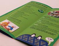 Kids in the Kitchen 'data merge' brochure