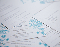 Tishana and Sean's Wedding Invitation