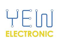 Yew Electronic Logo Design