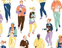 Joggers pattern