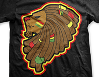 WECKYWERKS Clothing | Rasta Lion Shirt