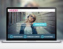 Muzer | App Design, UX/UI & Web Design