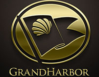 Grand Harbor Golf & Beach Club Logo Design