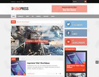 Lead Press – Flexible Magazine WordPress Theme